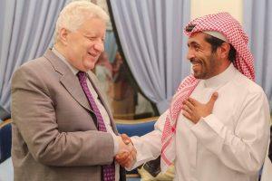 صور| حفل عشاء رئيس الهلال لمرتضى منصور في الرياض