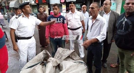 مصادرة مكبرات صوت بحي المنتزه للحد من ظاهرة التلوث السمعي بالإسكندرية