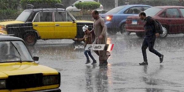 هطول أمطار غزيرة بالإسكندرية والمحافظ ترفع درجة الاستعداد