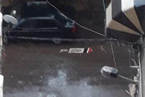 بالصور.. هطول أمطار على عدة مناطق بالإسكندرية الآن