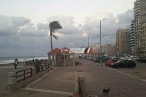 نشاط للرياح وتكاثر السحب واضطراب الملاحة فى البحر المتوسط يوم غداً الجمعة