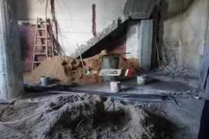 إيقاف أعمال بناء مخالف بحى وسط فى الإسكندرية