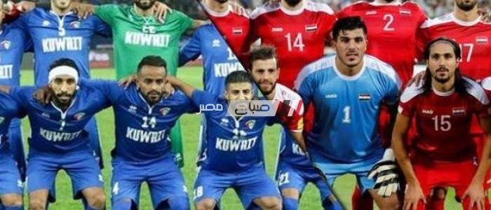 نتيجة مباراة الكويت وسوريا الودية