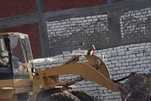 بالصور حملات مكبرة لإزالة التعديات على أراضي الدولة بحى المنتزه فى الإسكندرية
