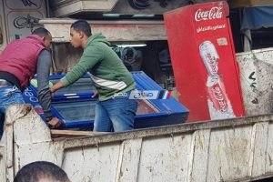 بالصور حملات إزالة تعديات وإشغالات مكبرة بنطاق حى وسط بالإسكندرية