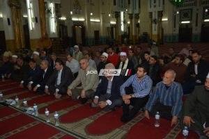 محافظة دمياط تحتفل بالذكرى العطرة للمولد النبوي الشريف بمسجد البحر