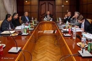 فعاليات زيارة وفد لجنة دراسة المخطط الشامل للموانيء المصرية لميناء دمياط