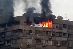 السيطرة على حريق نشب داخل شقة سكنية بمنطقة الهرم