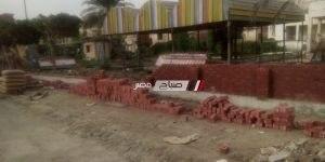 """تطوير """"حديقة الطفل بكفر سعد"""" بعد سنوات من الاهمال"""