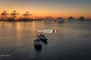 وصول 3حاويات و 3 سفن بضائع عامة ومغادرة 3 سفن حاويات بميناء دمياط