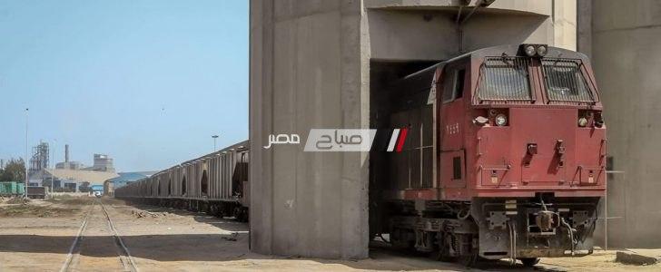 48 سيارة نقل تغادر ميناء دمياط بحمولة 2517 طن قمح