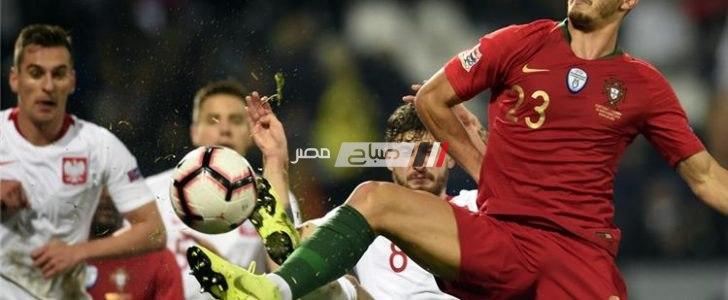 نتيجة مباراة البرتغال وبولندا
