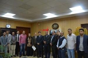 عادل حامد مديرًا للشئون القانونية بجامعة دمياط و ماهر عبد الجواد للموارد البشرية