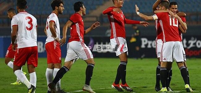 نتيجة مباراة مصر الاولمبي وتونس الاولمبي