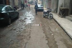 بالصور تسليم شارع المعصرة بدمياط للمقاول لإدراجه بخطة الرصف … صور