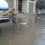 مياه الشرب بدمياط: تجهيز سيارات شفط مياه الأمطار استعدادا للتقلبات الجوية