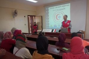 انطلاق فاعليات تدريبات الاسعافات الأولية المجانية بدمياط برعاية الهلال الأحمر المصري
