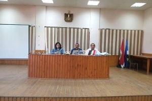 وكيل التضامن الاجتماعى بدمياط يجتمع بمكلفات الخدمة العامة لتفعيل برنامج المشروطية