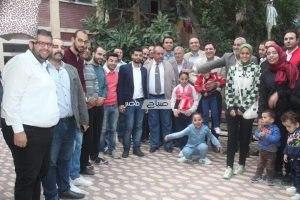 مستقبل وطن بدمياط يحتفل بالمولد النبوي الشريف بزيارة مؤسسة رعاية البنات