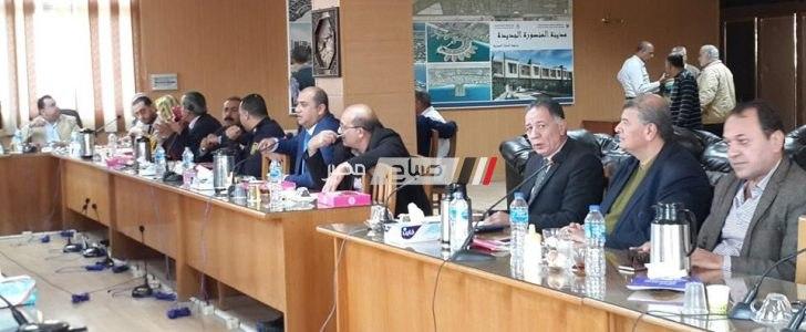 مجلس أمناء مدينة دمياط الجديدة يقدم الشكر لوكيل التعليم بدمياط