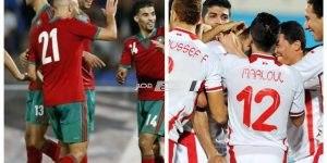 مباراة تونس والمغرب