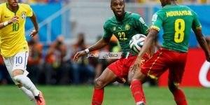 مباراة البرازيل والكاميرون