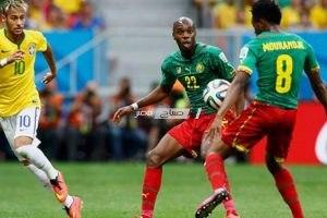 نتيجة مباراة البرازيل والكاميرون