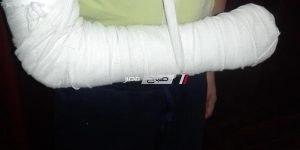 صورة الطالب المصاب