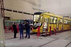 هيئة النقل العام بالإسكندرية توضح حقيقة تعطل الترام الجديد قبل تشغيله