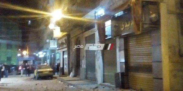 سقوط سيدة في انهيار بلكونة بسبب الطقس السيىء في الإسكندرية