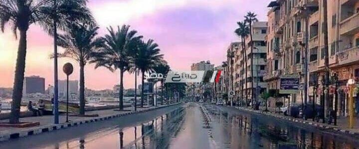أمطار غزيرة ورعد فى الإسكندرية الآن.. الأرصاد ذروة النوة اليوم الخميس