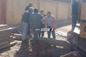 محافظ الإسكندرية يقوم بجولة ميدانية مفاجئة بطريق المعمورة.. صور