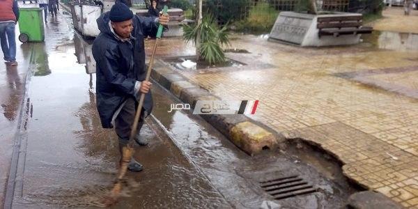 بالصور .. نوة قاسم تضرب الإسكندرية.. وتراكم المياه فى عدة مناطق بالمحافظة