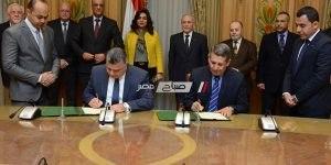 محافظ دمياط ووزير الدولة للإنتاج الحربى يوقعان بروتوكول لإنشاء مركز تجاري بمدينة الأثاث