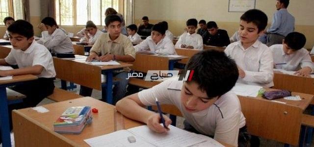 جدول امتحانات الصف السادس الابتدائي بمحافظة الاسكندرية 2019 نصف العام