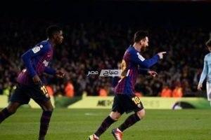 نتيجة مباراة برشلونة وسيلتا فيغو الدورى الاسبانى