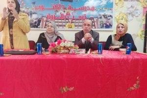 مدرسة 6 اكتوبر بدمياط تنظم ندوة حول نشر ثقافة التخطيط والتعريف برؤية مصر 2030