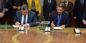 توقيع بروتوكول تعاون بين وزارة الإنتاج الحربي وشركة دمياط للأثاث