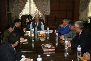 وفد من مبادرة Silk Road الصينية في زيارة لهيئة ميناء دمياط