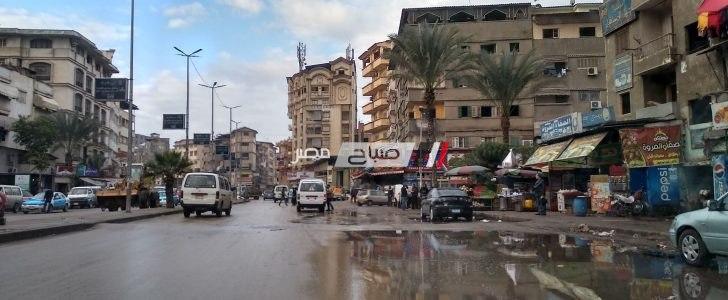 حقيقة سقوط أمطار غزيرة على دمياط خلال الساعات المقبلة