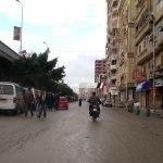 سقوط أمطار خفيفة على كل أنحاء محافظة دمياط وانخفاض ملحوظ في درجات الحرارة