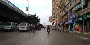 شوارع دمياط بعد موجة الامطار