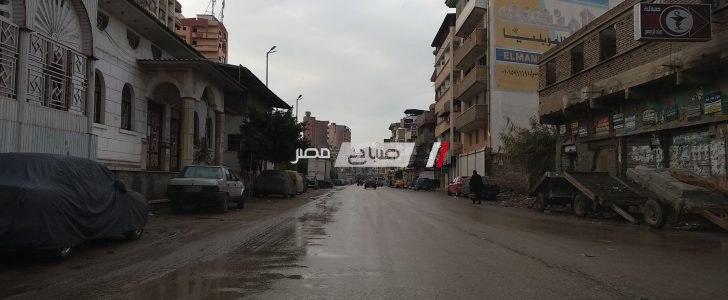 أمطار متوسطة وبرودة شديدة .. موجة من الطقس السيئ تضرب محافظة دمياط