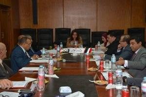 محافظ دمياط تدعو الشركات بتعزيز المساهمات المجتمعية في إجتماع المنطقة الحرة