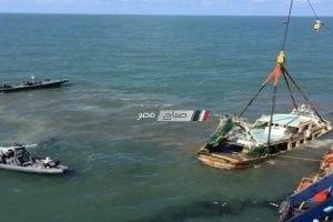 العثور على المركب المفقوده بخليج السويس و لا صحة لانتشال جثث البحاره و ريس المركب
