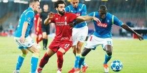 مباراة ليفربول ونابولى