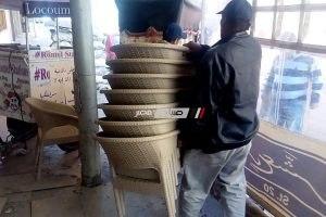 تحرير 4 محاضر في حملة مكبرة لازالة اشغالات قرية نديبه