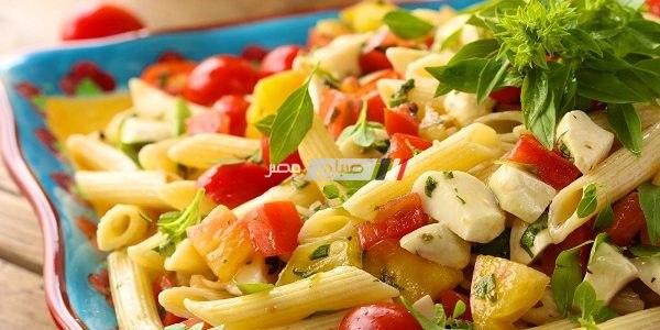 مكرونة بالخضروات و الجبنة بتكلفة بسيطة على طريقة نجلاء الشرشابي