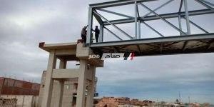 حى العامرية يعلن عن إنشاء 2 كوبرى مشاة بالإسكندرية