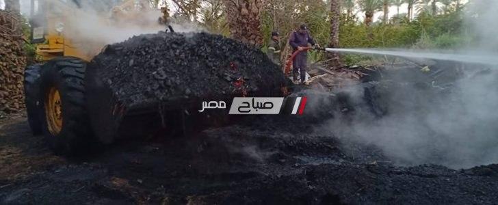 ازالة 20 مكمورة فحم غير مرخصة على مساحة 3000 متر في حملة مكبرة بدمياط